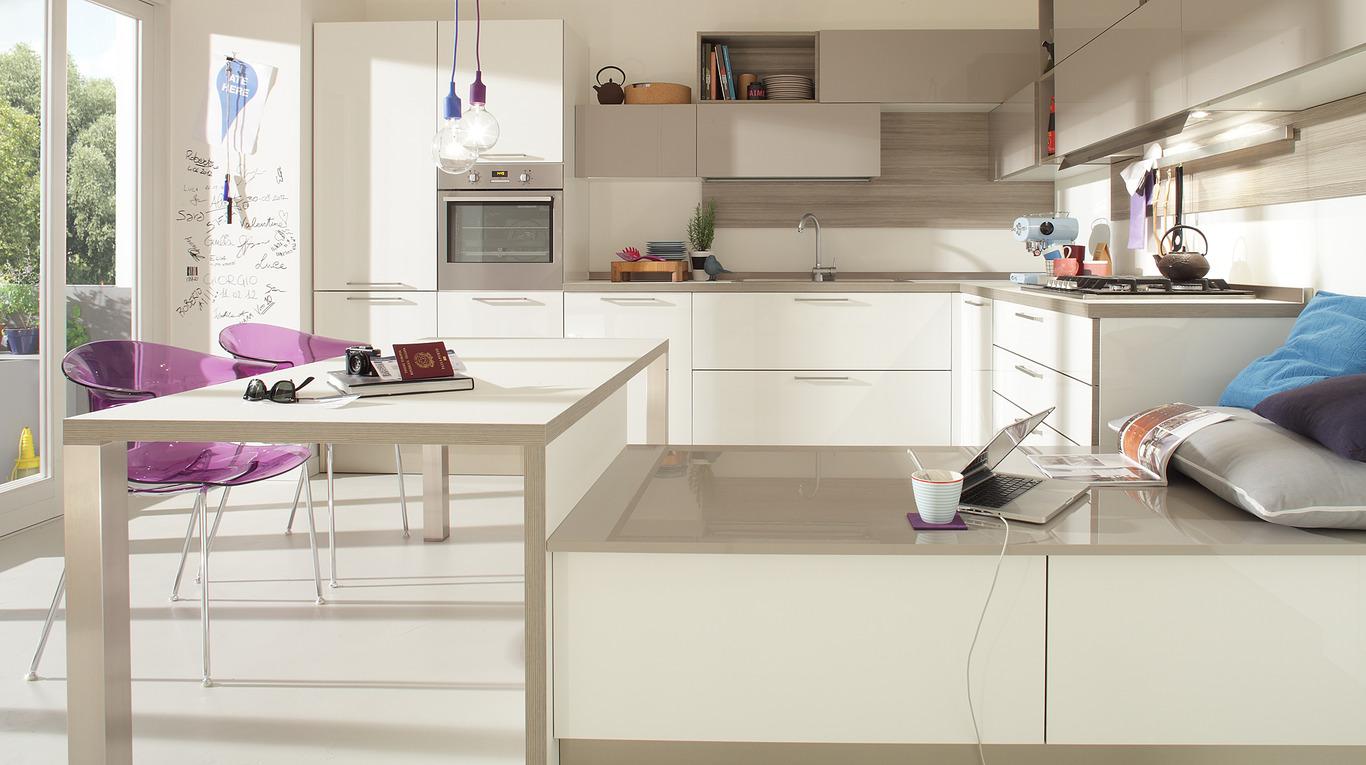cucina moderna usata: scopri di pi. carrello da cucina nuovo ... - Cucina Moderna Bianca E Beige